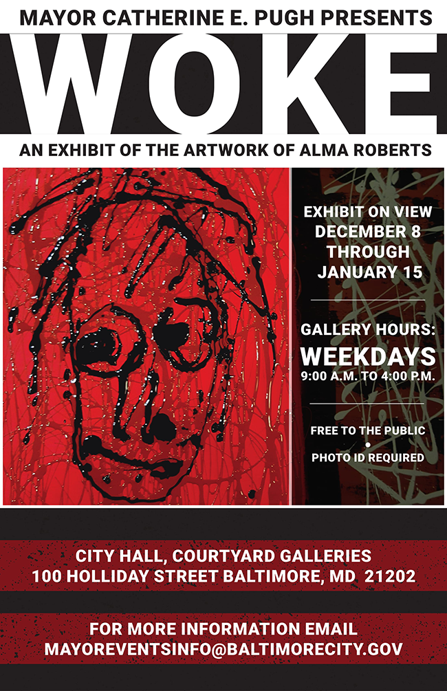 Exhibit on view 12/08/17 - 01/12/18 9:00AM - 4:00PM at City Hall