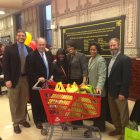 Mayor Rawlings-Blake and other officials announce the expansion of the Virtual Supermarket Program