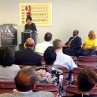 IMAGE: Mayor Rawlings-Blake announces local hiring impact of the Horseshoe Baltimore casino