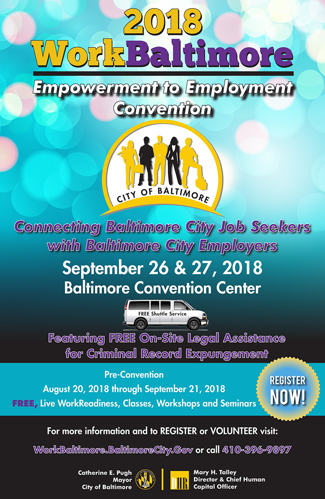 Sep 26/27 at the Baltimore Convention Center